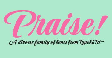 Praise [8 Fonts]