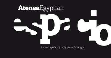 Atenea Egyptian [9 Fonts]