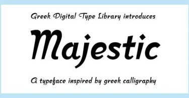 CF Majestic [1 Font]