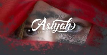 Asiyah Script [1 Font]