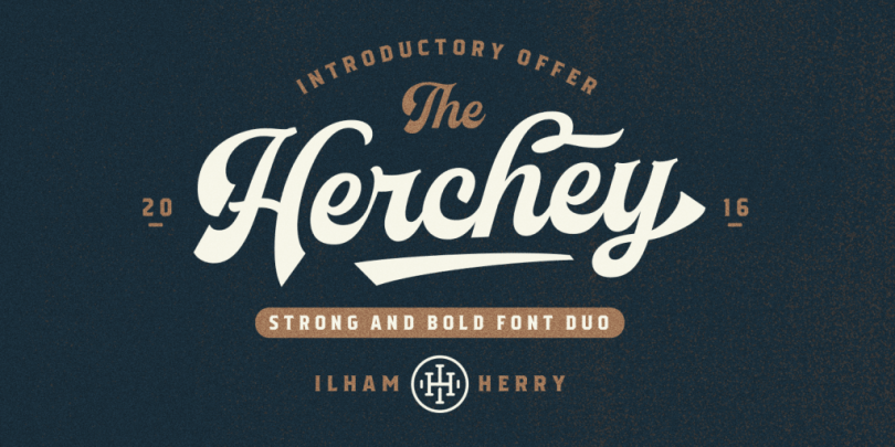 Herchey [2 Fonts]