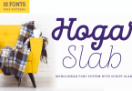 Hogar Slab Super Family [16 Fonts]