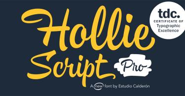Hollie Script Pro [2 Fonts]