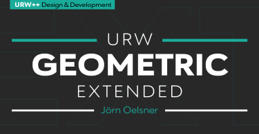 URW Geometric Extended Super Family [20 Fonts]