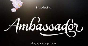 Ambassador [1 Font]