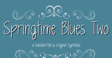 MRF Springtime Blues Two [1 Font]