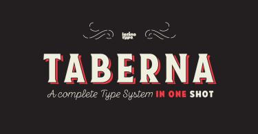 Taberna Super Family [22 Fonts]