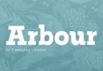 Arbour [14 Fonts]