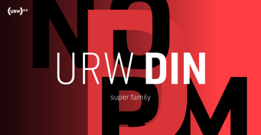URW DIN Super Family [48 Fonts]