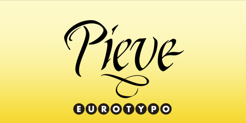 Pieve [1 Font] | The Fonts Master