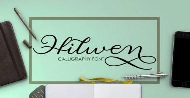 Hilwen Script [2 Fonts]