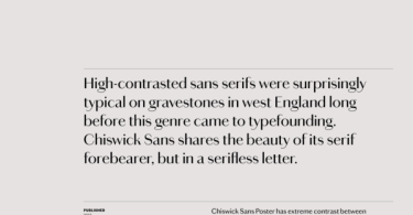 Chiswick Sans Poster Super Family [14 Fonts]