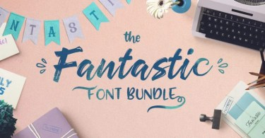 Fantastic Font Bundle By Drizy [45 Fonts]
