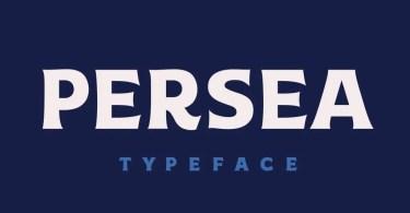 Persea SST [2 Fonts]