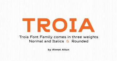 Troia [12 Fonts]