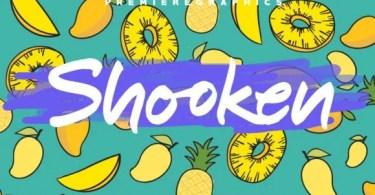 Shooken [3 Fonts]