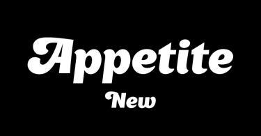 Appetite New [1 Font]