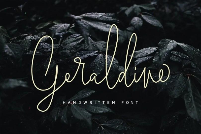 Geraldine [3 Fonts] | The Fonts Master