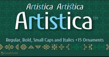 Artistica Super Family [4 Fonts]