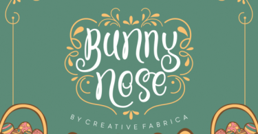 Bunny Nose [1 Font]