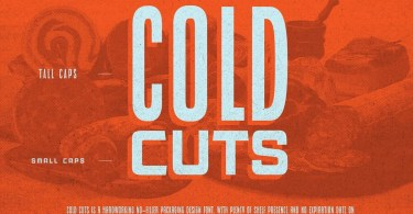 Cold Cuts [10 Fonts]