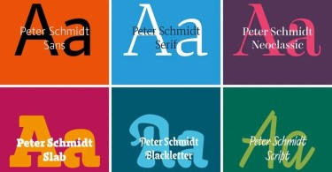 Peter Schmidt Type [24 Fonts]