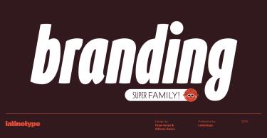 Branding Super Family [56 Fonts]