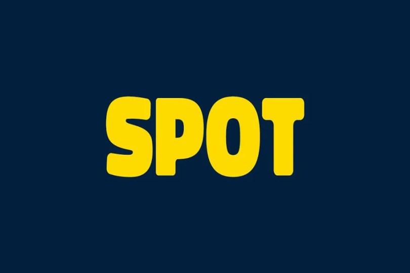 Spot [4 Fonts]   The Fonts Master