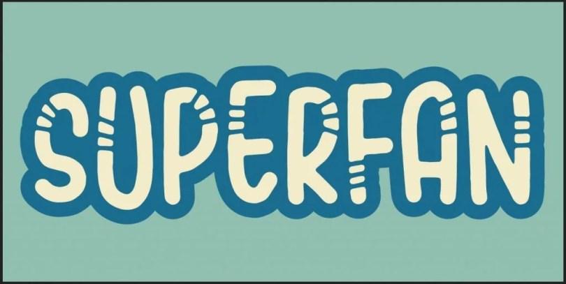 Superfan [2 Fonts] | The Fonts Master