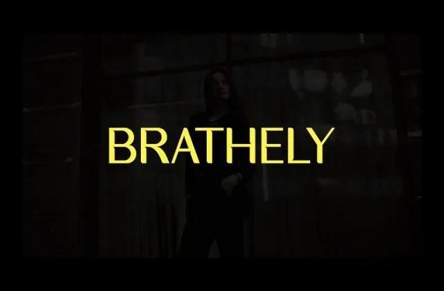 Brathely [1 Font]   The Fonts Master