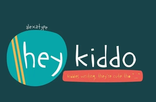 Hey Kiddo [5 Fonts] | The Fonts Master