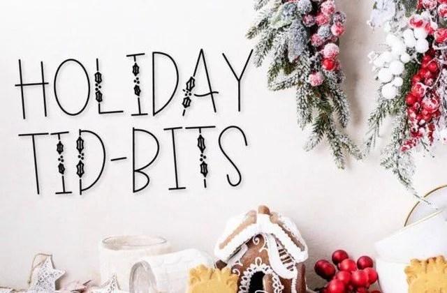 Holiday Tidbits [1 Font] | The Fonts Master