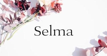 Selma [8 Fonts]