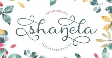 Shanela [1 Font]