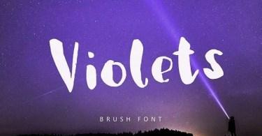 Violets [1 Font]