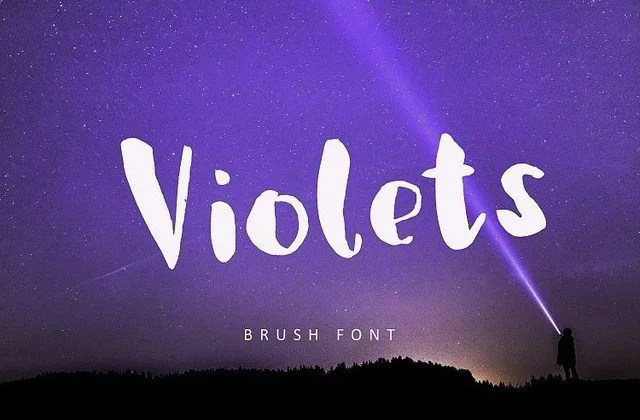 Violets [1 Font] | The Fonts Master