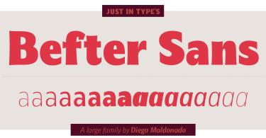 Befter Sans Super Family [16 Fonts]