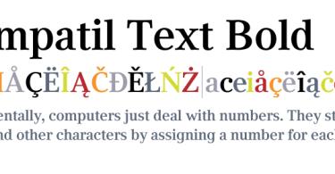 Compatil Text Super Family [4 Fonts]