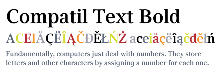 Compatil Text Super Family [4 Fonts] | The Fonts Master