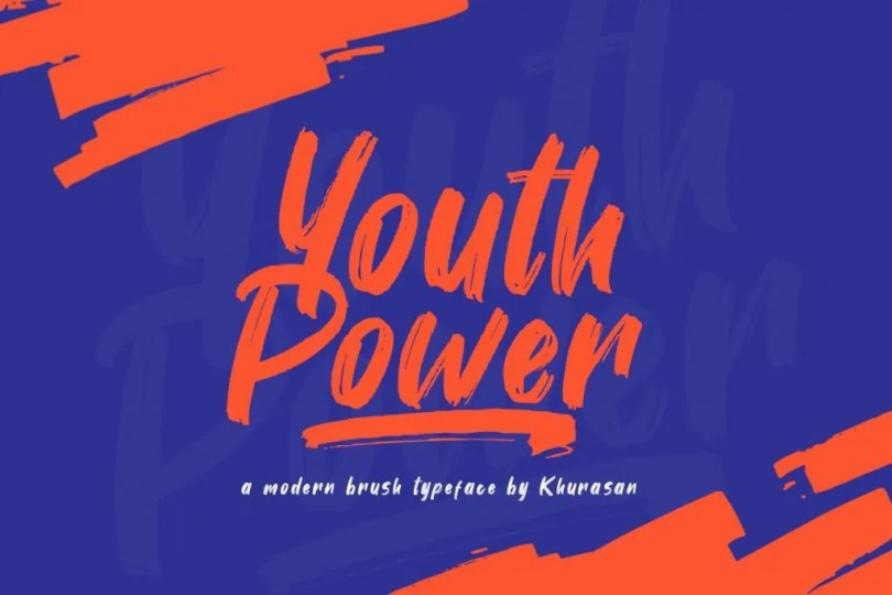 Youth Power [1 Font]   The Fonts Master
