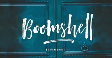 Boomshell Brush [9 Fonts]