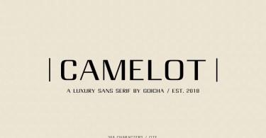 Camelot Luxury Sans Serif [1 Font]