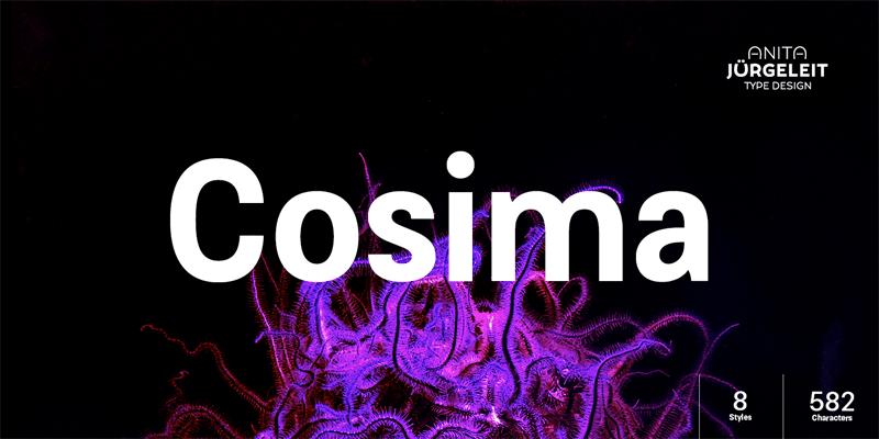 Cosima [8 Fonts]