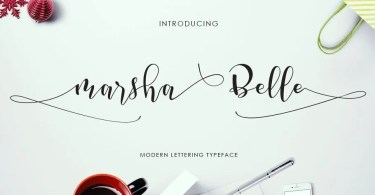 Marsha Belle [1 Font]
