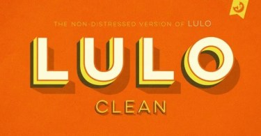 Lulo Clean [10 Fonts]