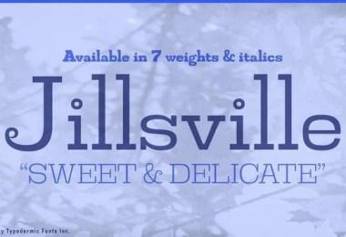 Jillsville [14 Fonts]