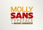 Molly Sans [25 Fonts]