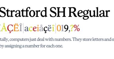 Stratford SH [4 Fonts]