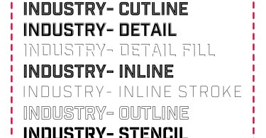 Industry Inc [12 Fonts]