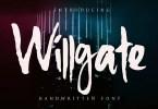 Willgate [1 Font]
